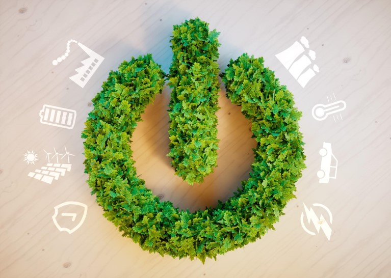 Energy transition and circular economy